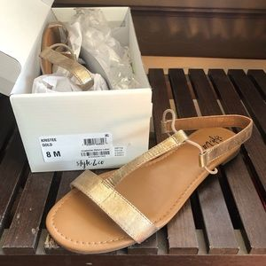Cute Sandals. Used once!